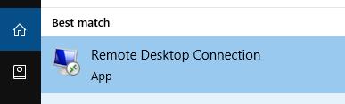 Pick remote desktop