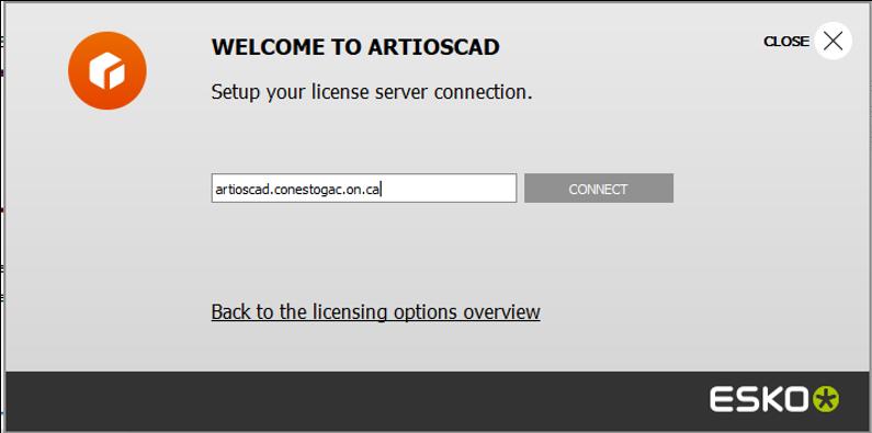 ArtiosCAD license server