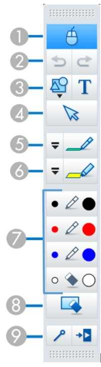 annotation bar